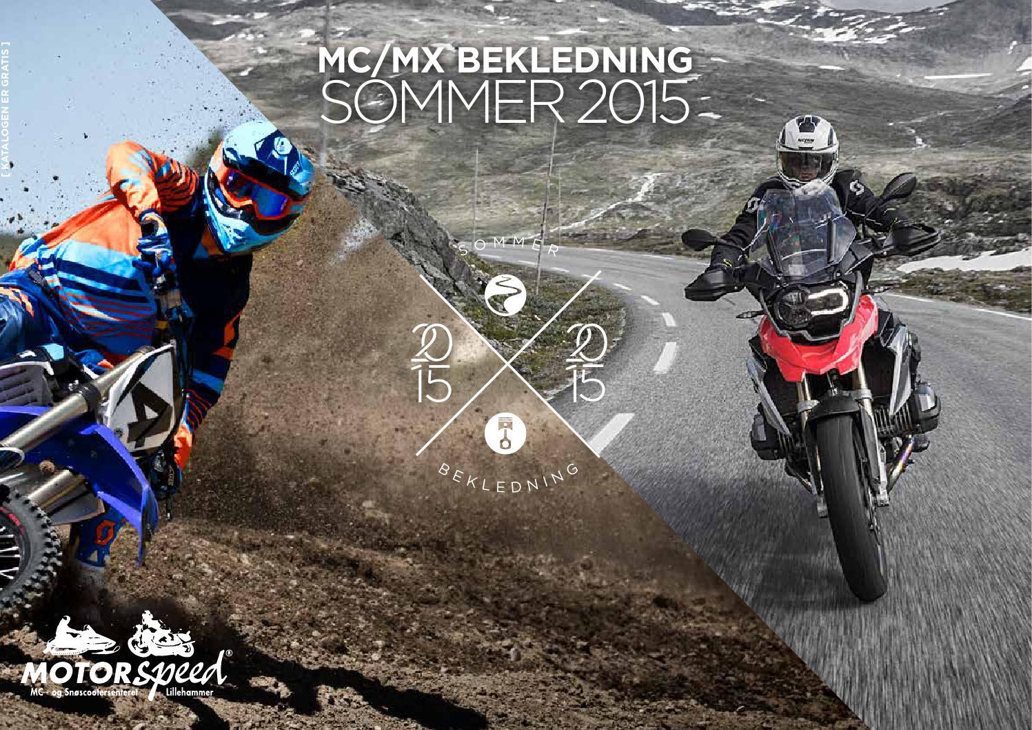 39a7e2fc6 Motorspeed - MC/MX Bekledning Sommer 2015 by Motorspeed AS - issuu