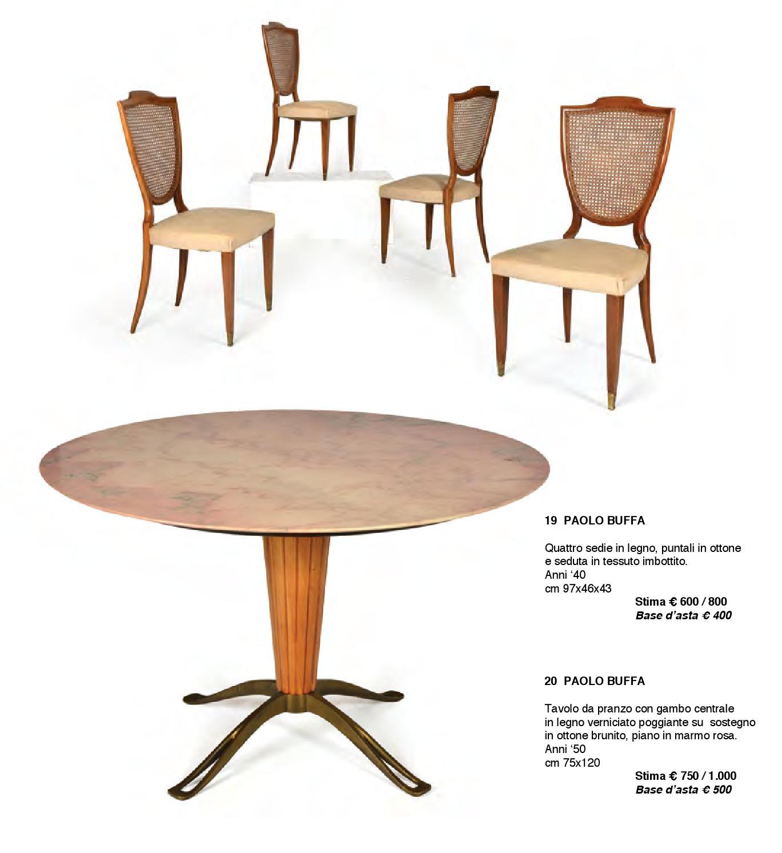 Tavolo Da Cucina In Marmo Anni 50.Asta Di Design By Sant Agostino Casa D Aste Issuu