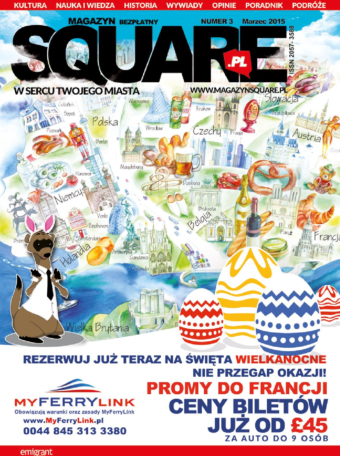 Magazine Squarepl March 2015 By Magazynsquarepl Issuu