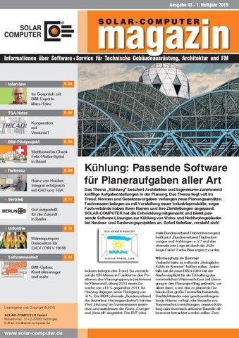 SOLAR-COMPUTER Magazin 1. HJ 2015 by Marcus Sztehlo - issuu
