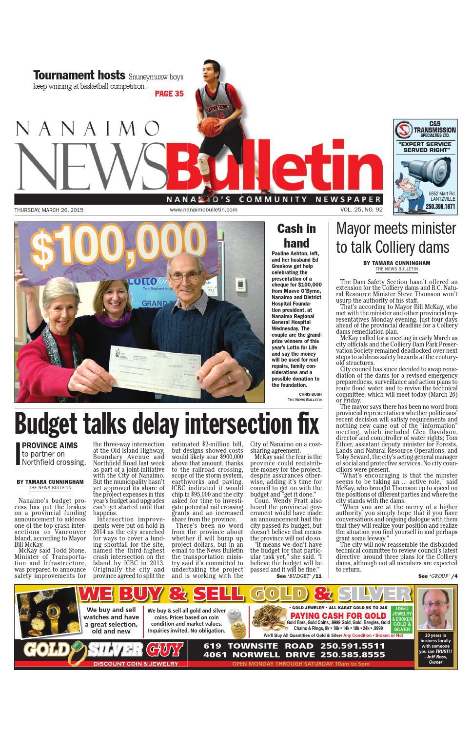 Bathmaster Nanaimo nanaimo news bulletin, march 26, 2015black press - issuu