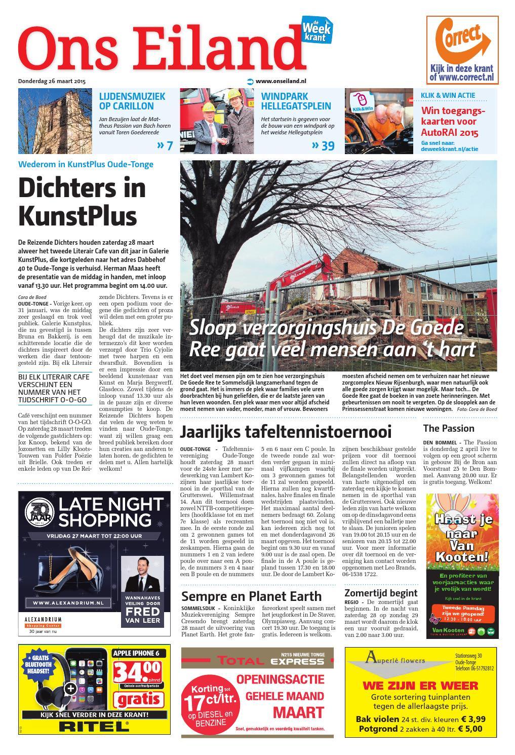 Tuinkast Bayern Gratis Bezorgd Nederland.Ons Eiland Goeree Overflakk Week13 By Wegener Issuu