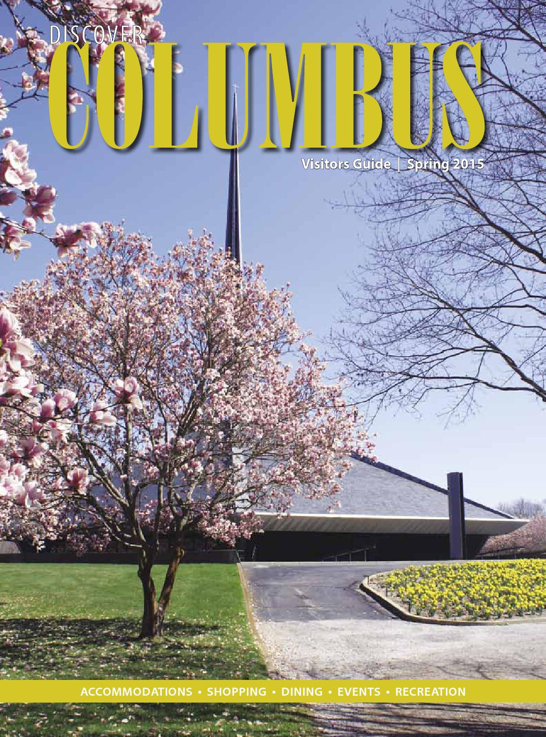 Discover columbus spring 2015 by aim media indiana issuu for Columbus spring