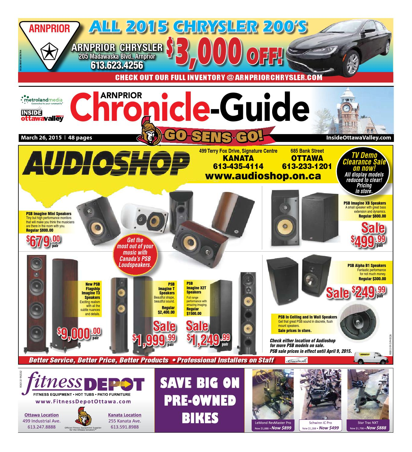 Arnprior032615 By Metroland East Arnprior Chronicle Guide Issuu