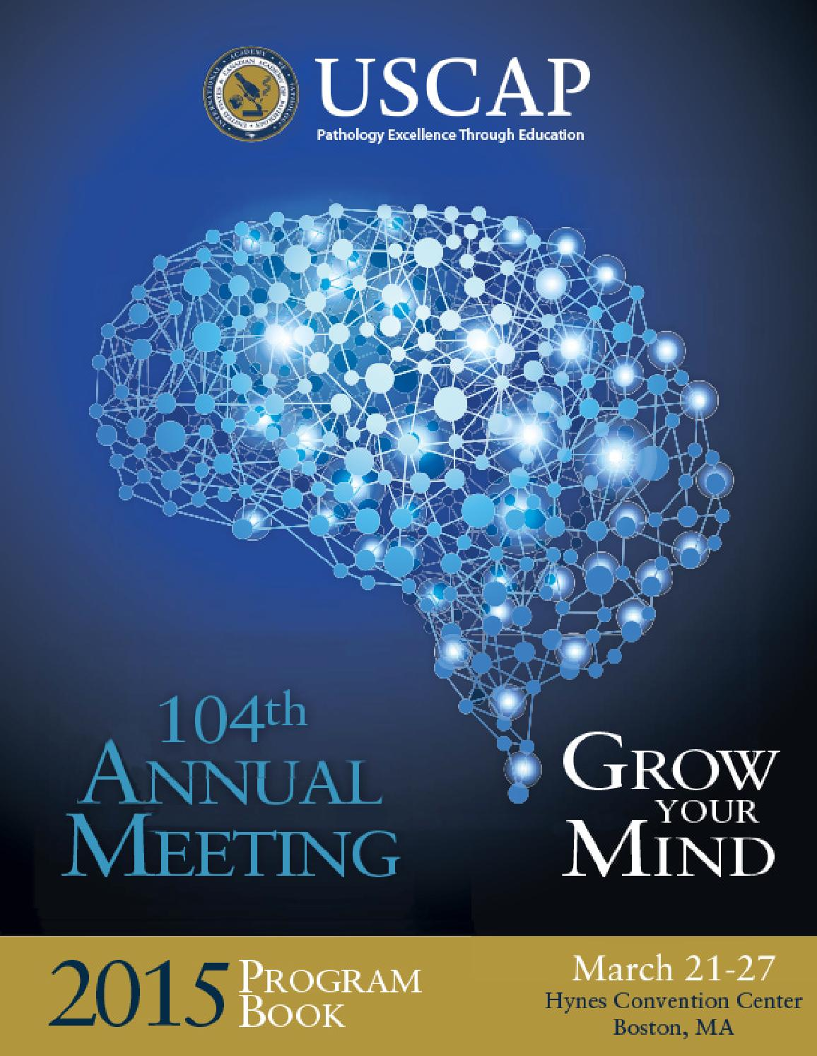 USCAP 104th Annual Meeting By USCAP365 Issuu