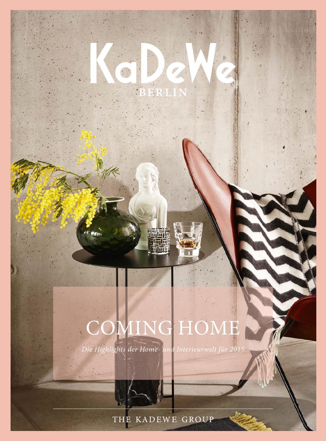 coming home by kadewe berlin issuu. Black Bedroom Furniture Sets. Home Design Ideas