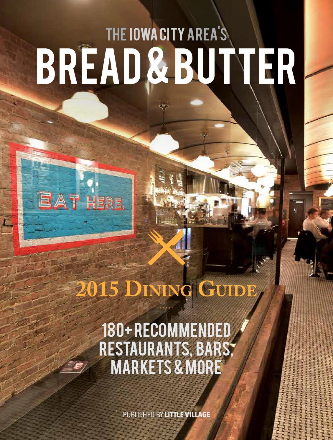 The Iowa City Area 39 S Bread Butter By Little Village Magazine Issuu