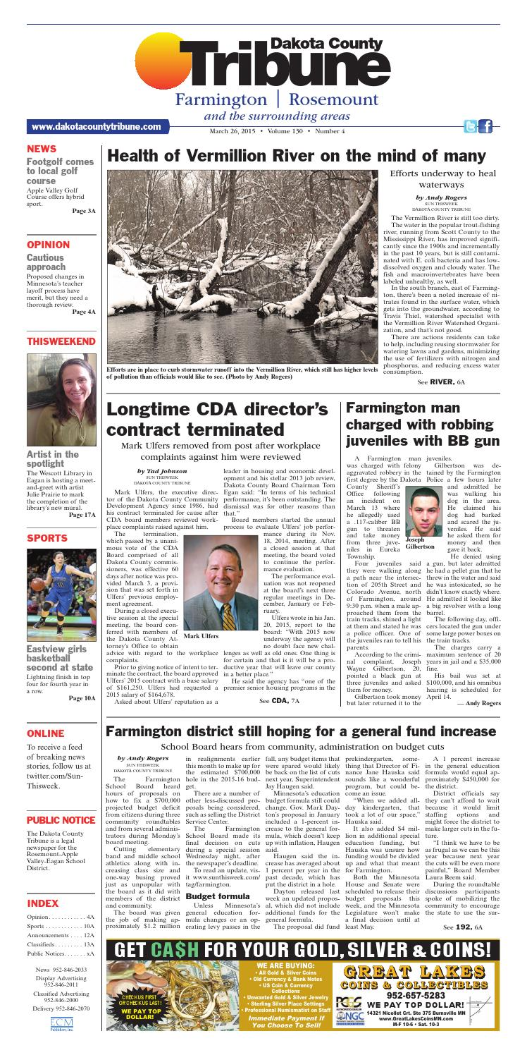 dct 3 26 15 by dakota county tribune issuu rh issuu com