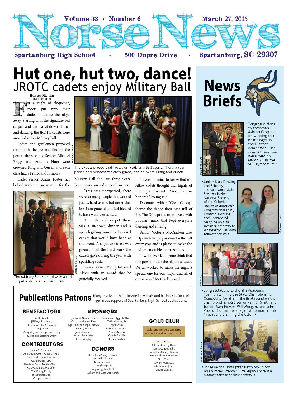 Norse News Apr 2015 by Lisa McCulley - issuu
