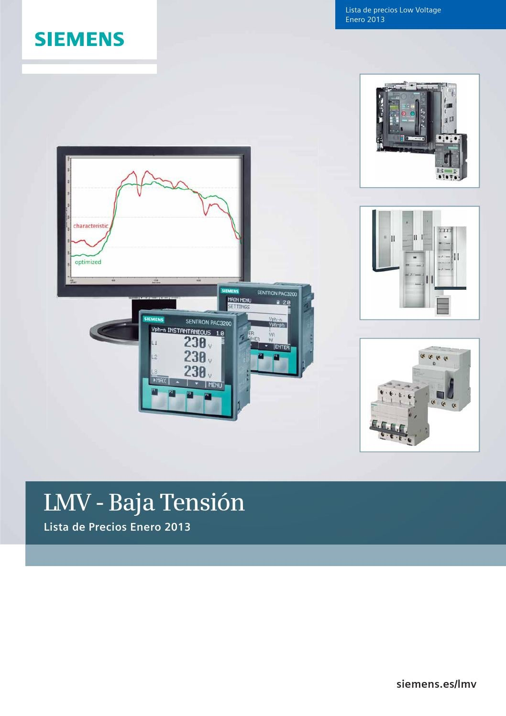 Siemens Baja Tension By Servibalance Issuu