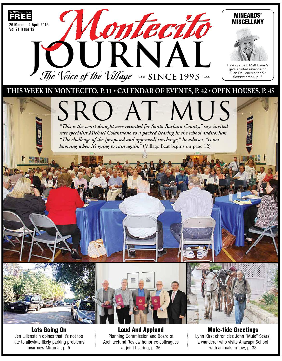 Sro At Mus By Montecito Journal Issuu
