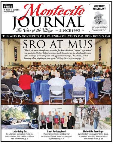 de9e5935097 SRO at MUS by Montecito Journal - issuu