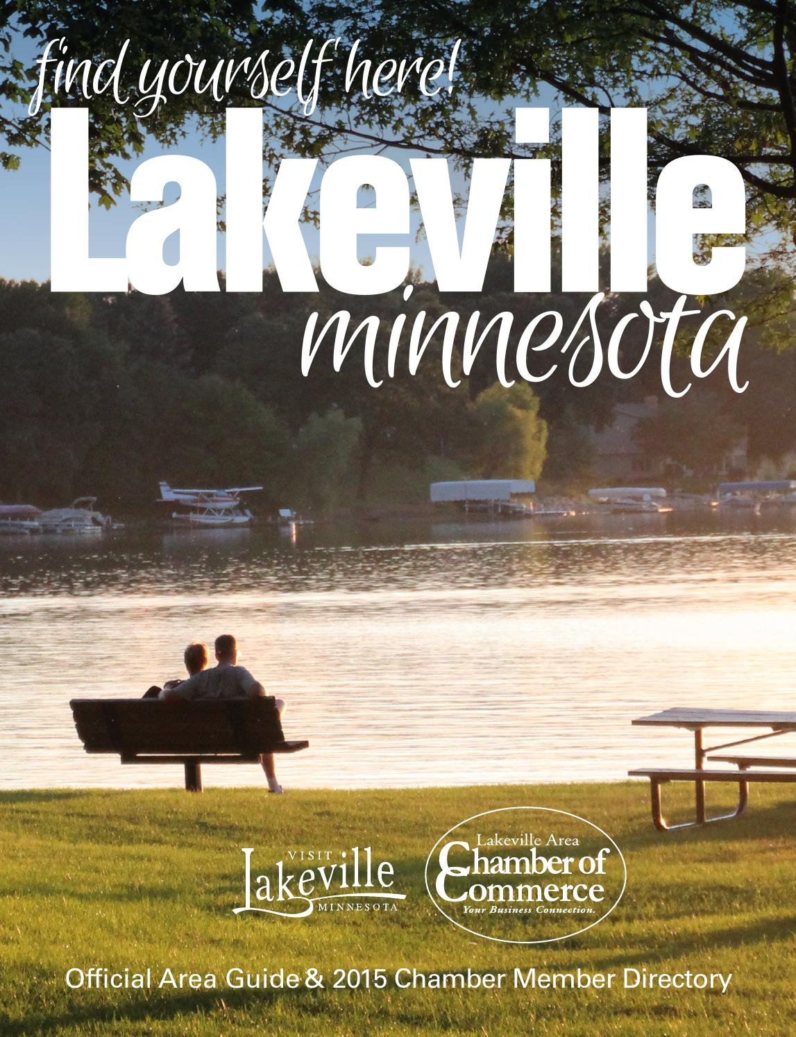 Lakeville Official Area Guide & 2015 Chamber Member