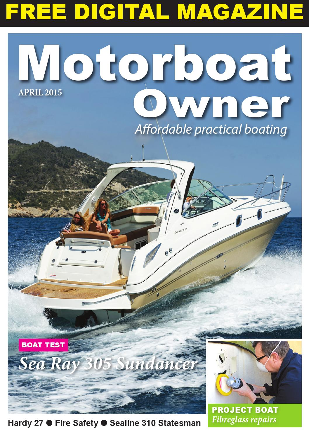 Motorboat Owner April 2015 By Digital Marine Media Ltd Issuu Adverc Wiring Diagram