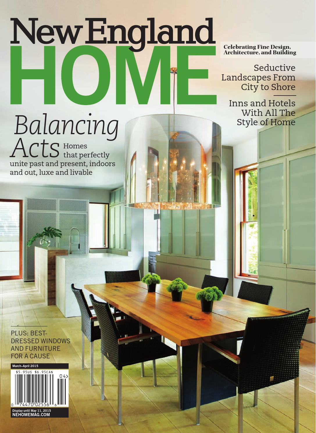 New England Home March April 2015 By Magazine LLC