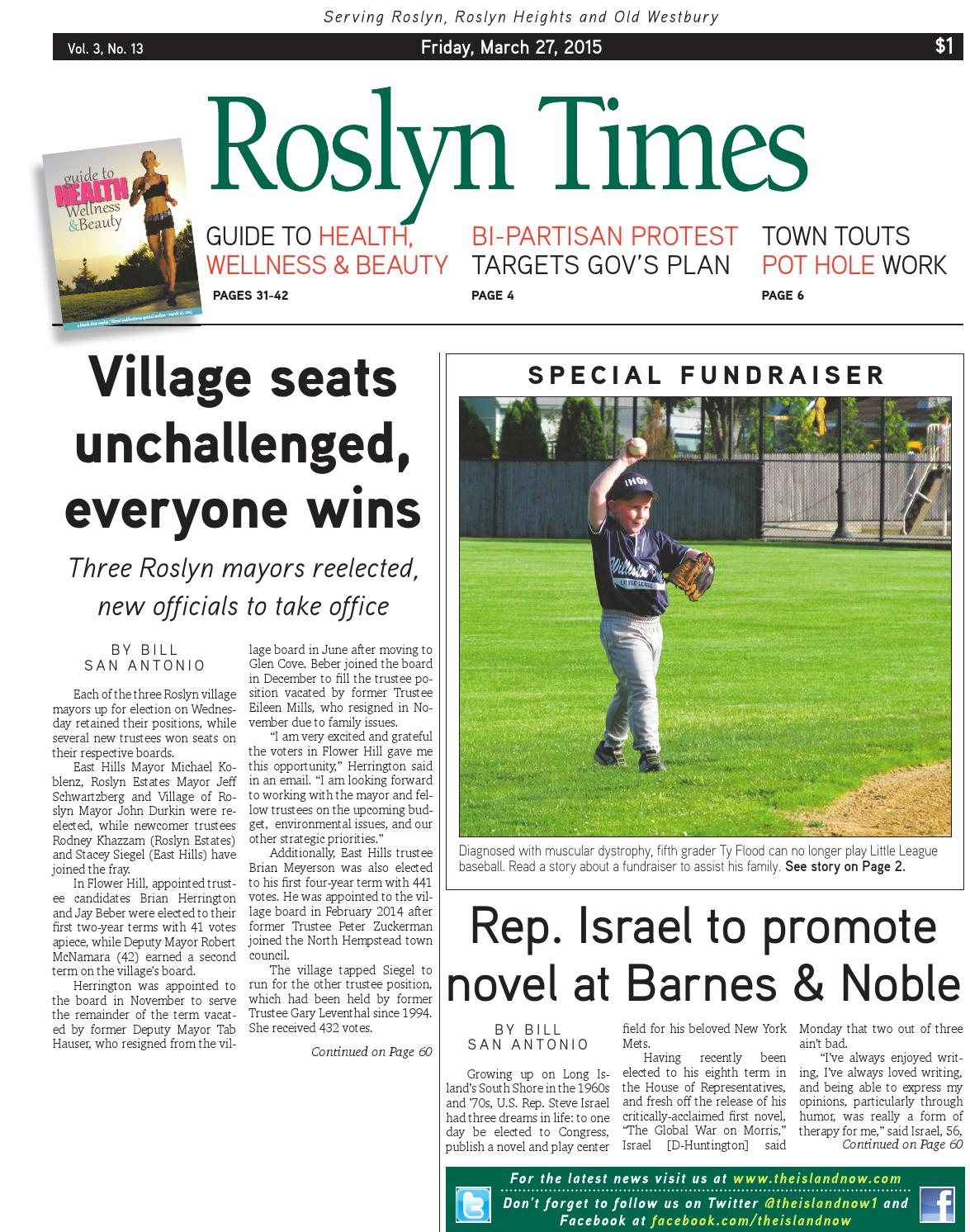 Roslyn Times 3 27 15 By The Island Now Issuu