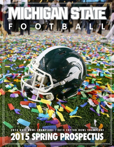 Nike jerseys for wholesale - 2015 Michigan State Cotton Bowl Classic Media Guide by Ben Phlegar ...