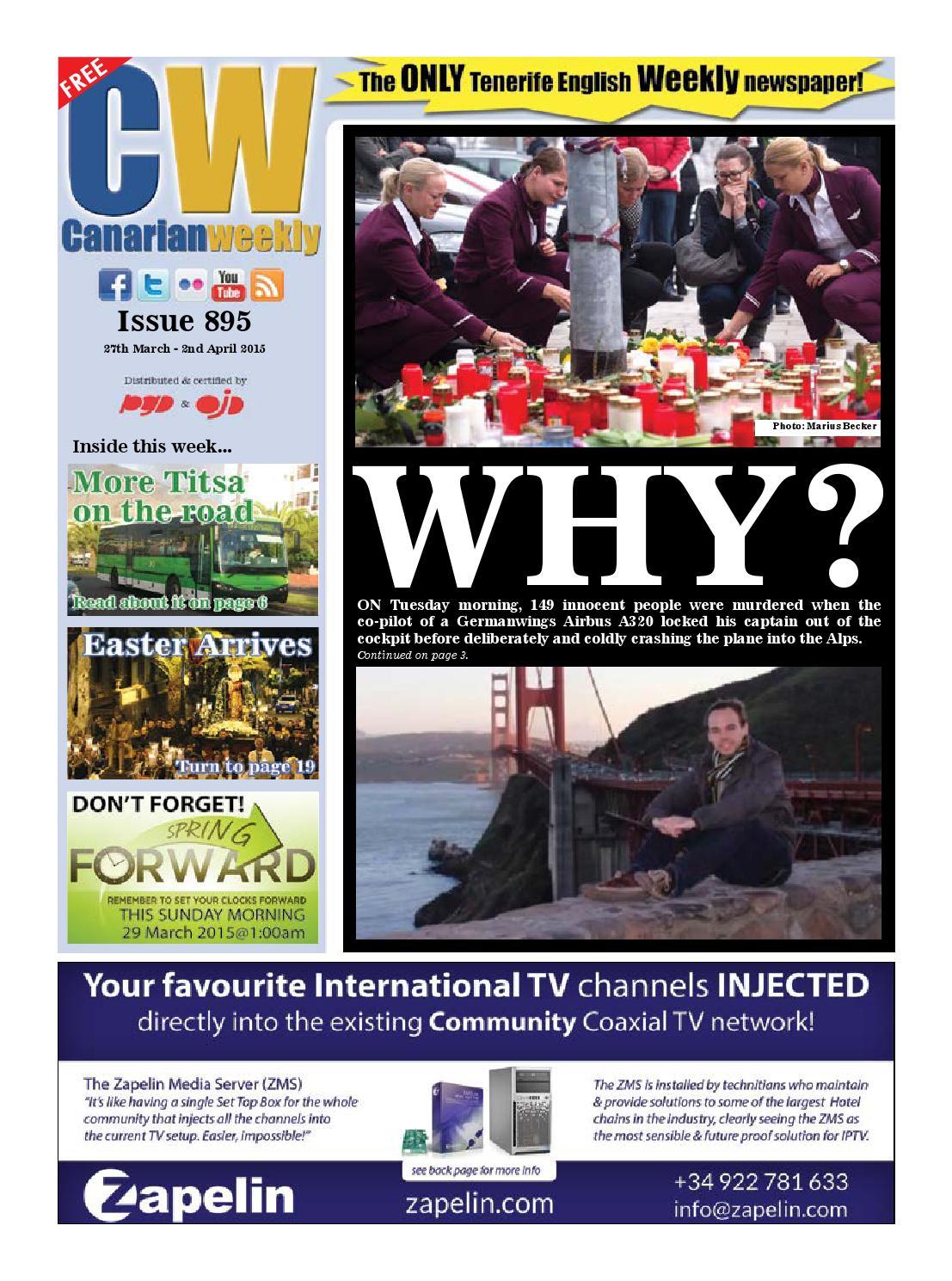 Cw Issue 895 By Canarian Weekly Issuu