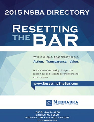 c2654306e8f 2015 NSBA Bar Directory by Elisa Oria - issuu