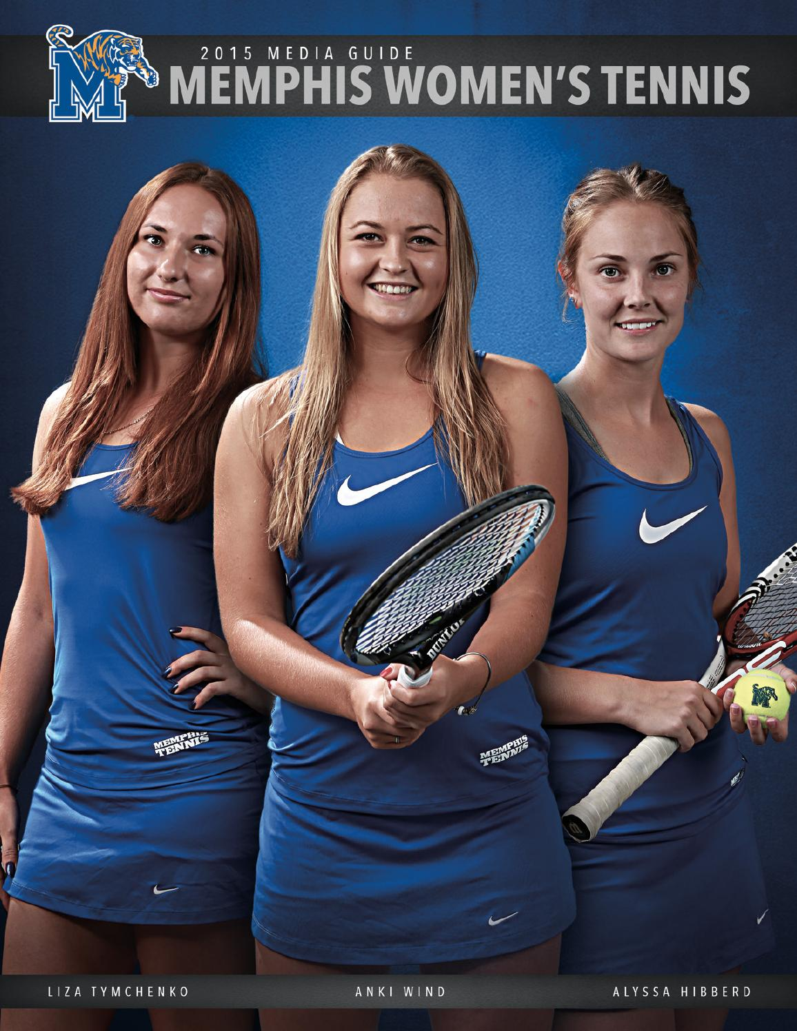 2015 Memphis Women's Tennis Media Guide by University of ...