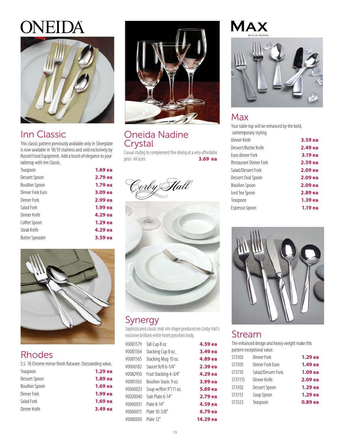 Russell Food Equipment Spring Flyer 2015 By Russell Food Equipment