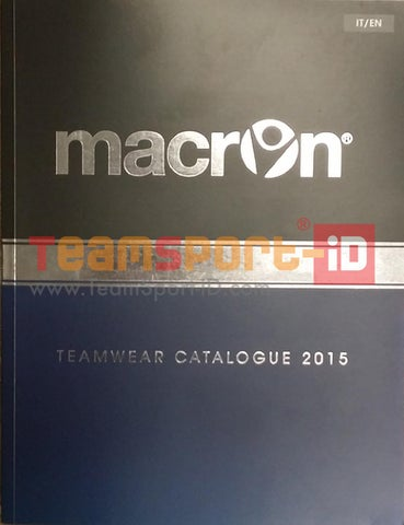 63e83f8e Catalogo Macron Sport 2015-2016 by TeamSport Identity S.r.l. - issuu
