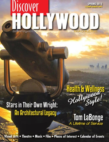 Discover Hollywood Spring 2015 by Discover Hollywood