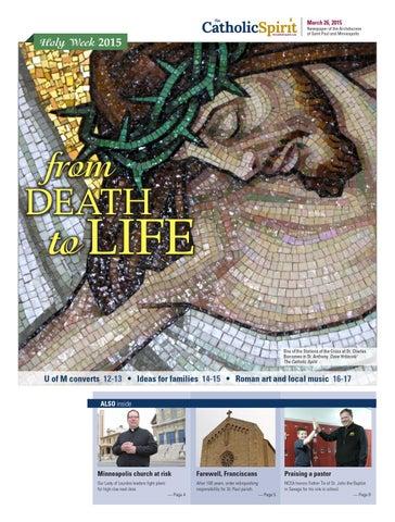 The Catholic Spirit March 26 2015 By The Catholic Spirit