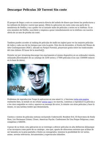 descargar utorrent peliculas 3d