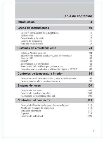 Manual de usuario Ford Fiesta 2013 by Isra V - issuu