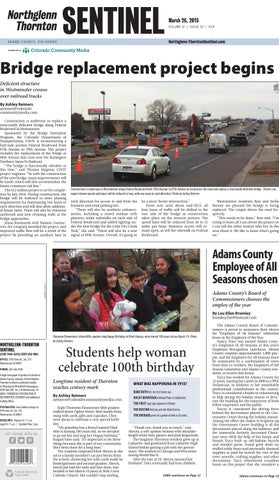 Exceptionnel Northglenn Thornton Sentinel 0326 By Colorado Community Media   Issuu