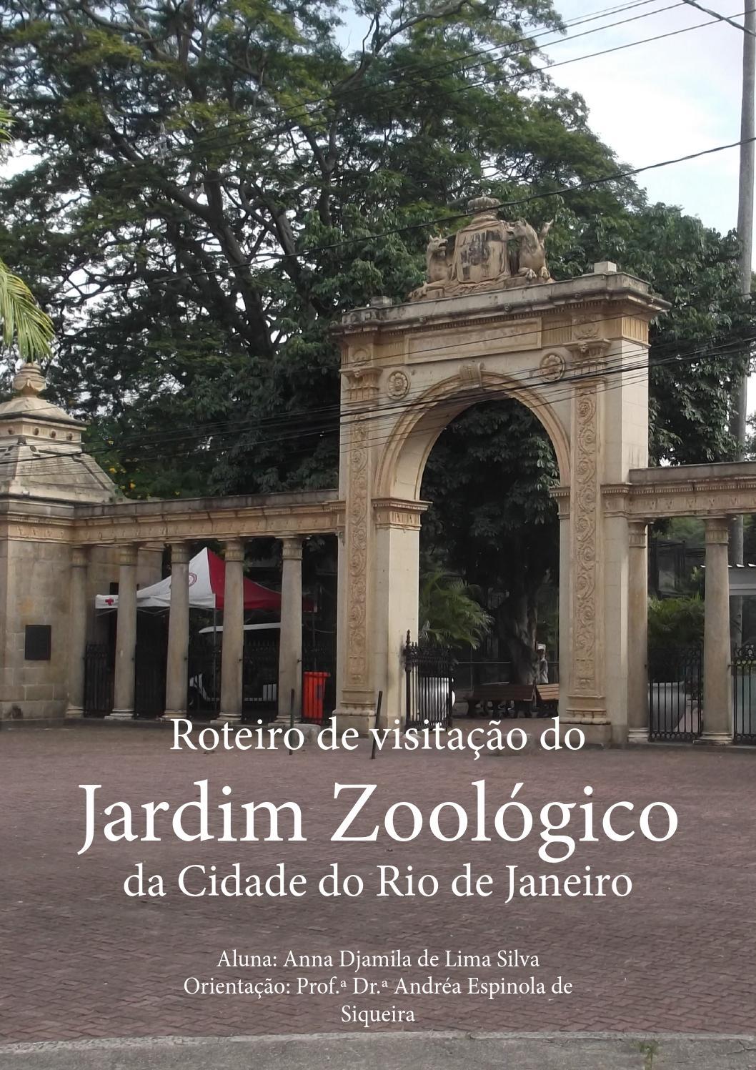 Roteiro de visitação ao Jardim Zoológico da cidade do Rio