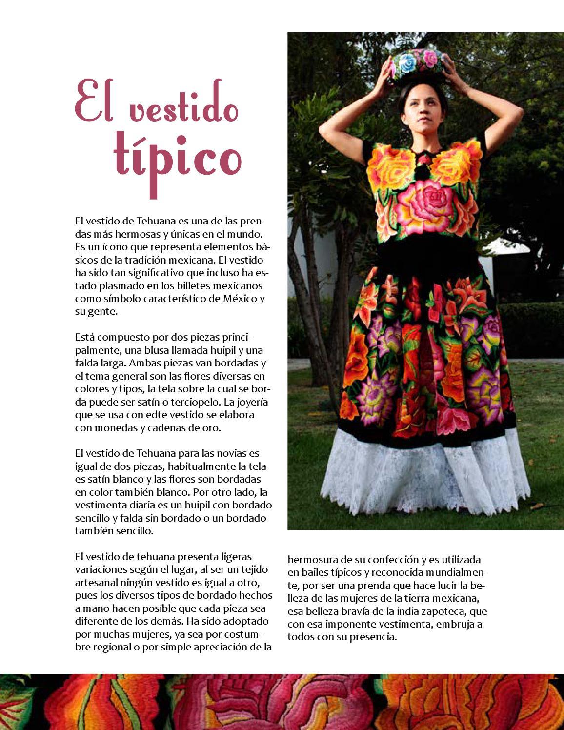 92e3de6f06 Vestido de tehuana by Suzy B. González - issuu