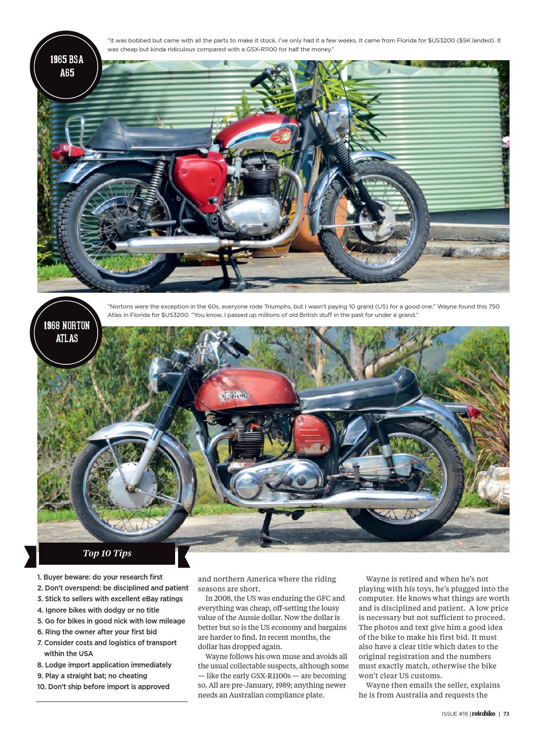 Retro Bike Issue #18