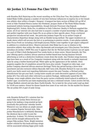 bas prix c8e3d 93f11 Air Jordan 3.5 Femme Pas Cher VD11 by neighborlyamule38 - issuu