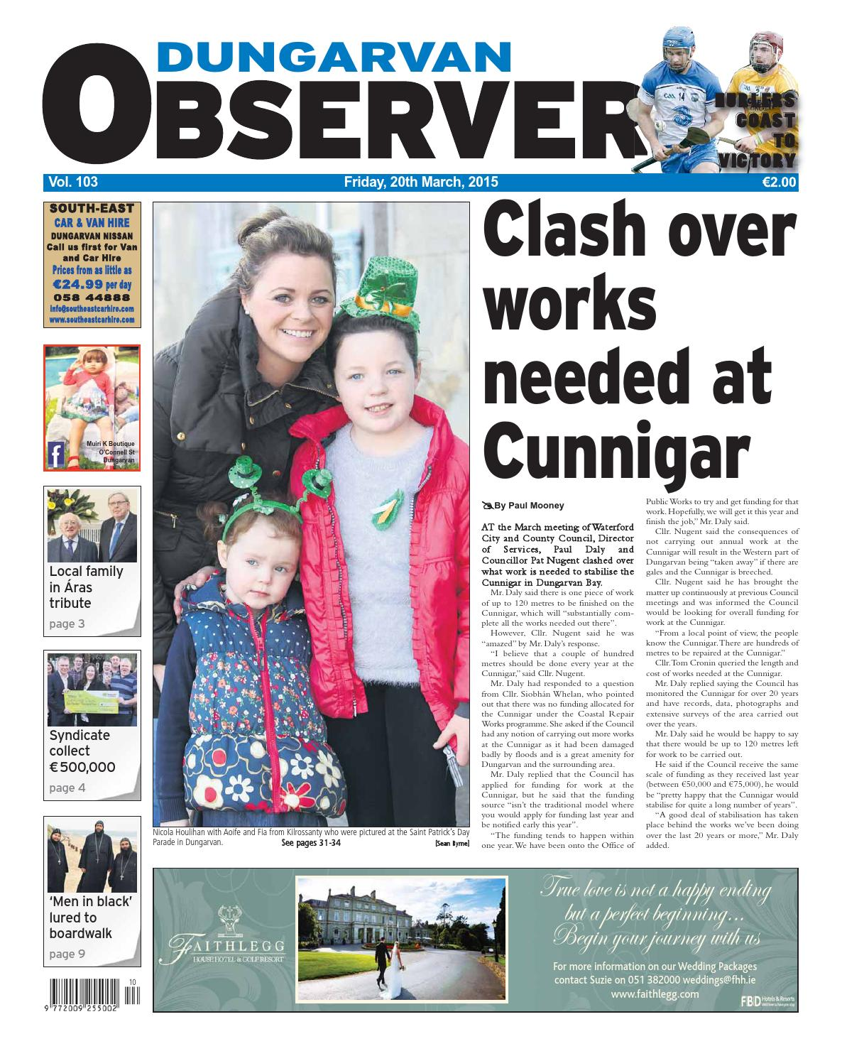 a1dfd56de8 Dungarvan observer 20 3 2015 edition by Dungarvan Observer - issuu