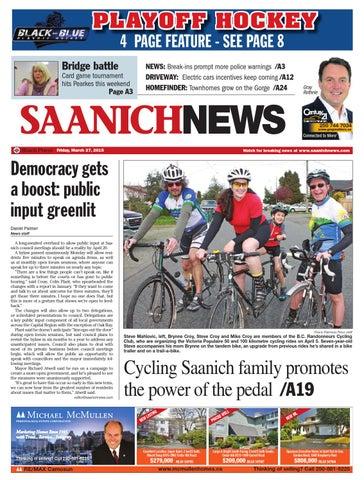 1f9a9bfc2ec Saanich News, March 27, 2015 by Black Press Media Group - issuu