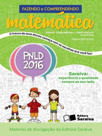2599f7ff1a Coleção Fazendo e Compreendendo Matemática - Obra inscrita no PNLD ...