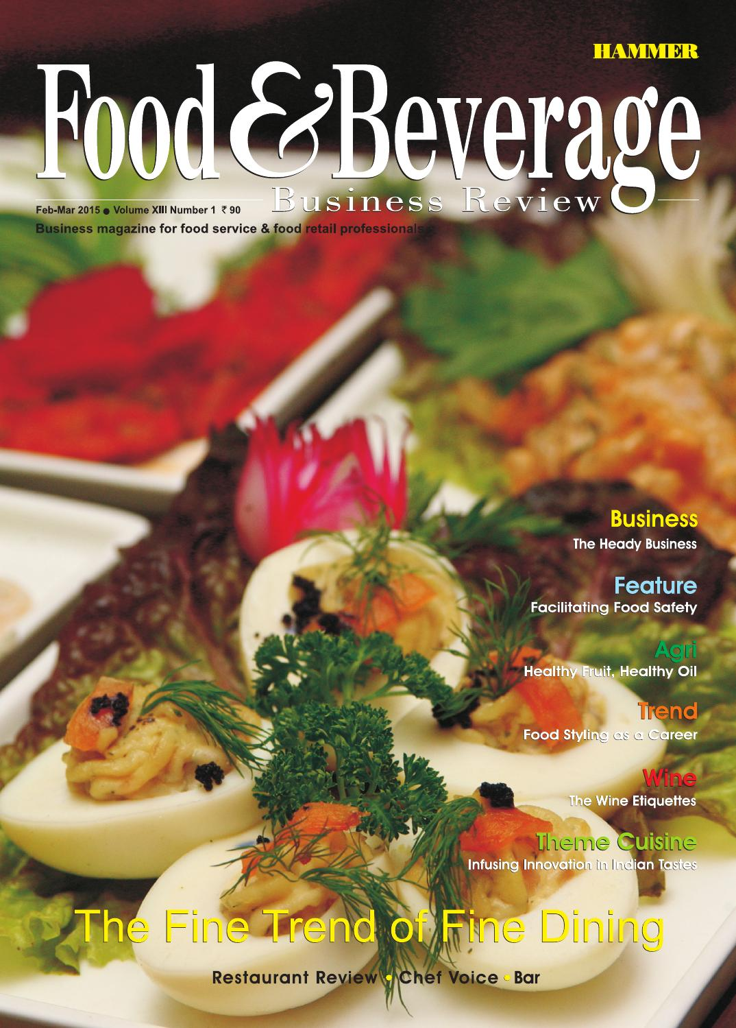 Food & Beverage Business Review (Feb-Mar 2015) by Food ...