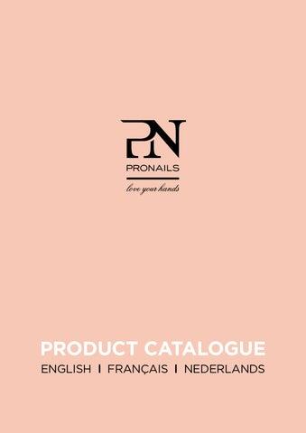 ProNails Product Catalogue 2014 2015 EN FR NL By