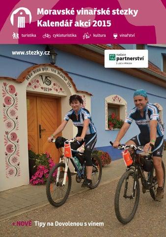 6529e324c3633 Kalendář akcí na Moravských vinařských stezkách 2015 by Nadace ...