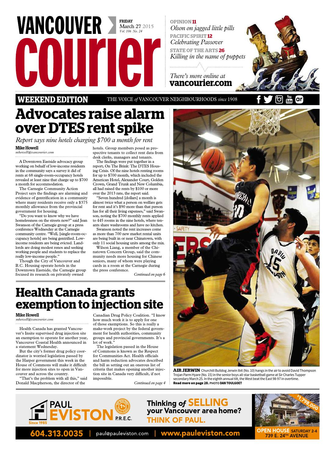 Vancouver Courier March 27 2015 By Issuu Goon Diapers Slim Pants L50s