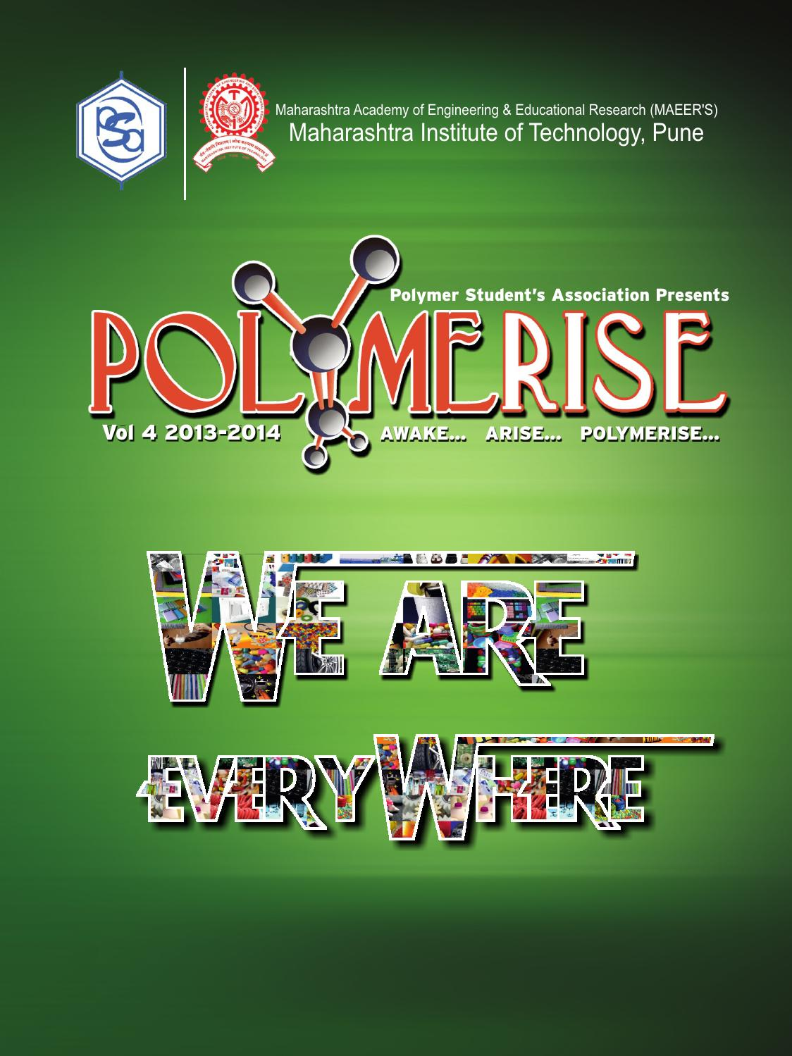 Polymerise 2014 By Shantanu Kulkarni Issuu