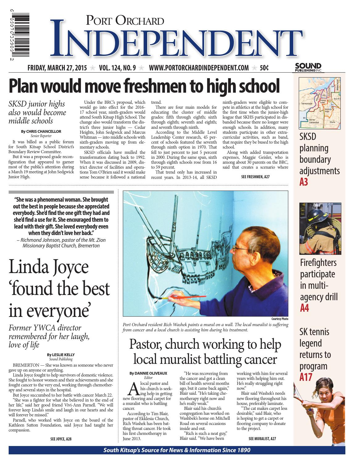 Port Orchard Independent, March 27, 2015 by Sound Publishing - issuu