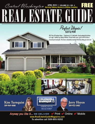 Central Washinton Real Estate Guide April 15 by Sarah Beals