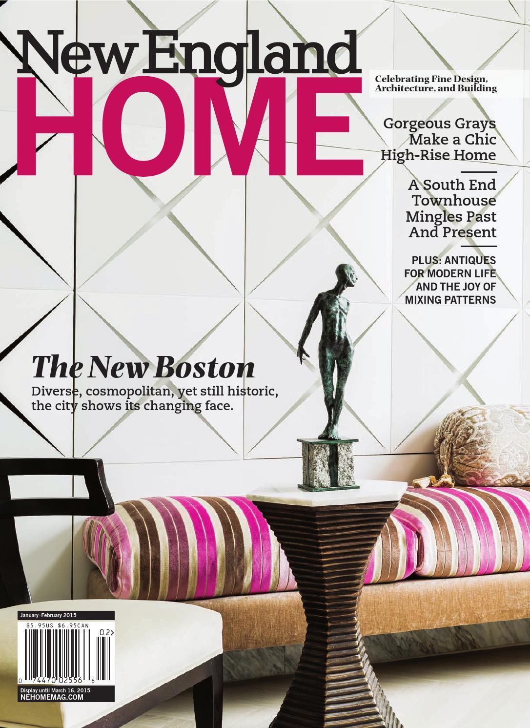 New England Home Jan Feb 2015 By Magazine LLC