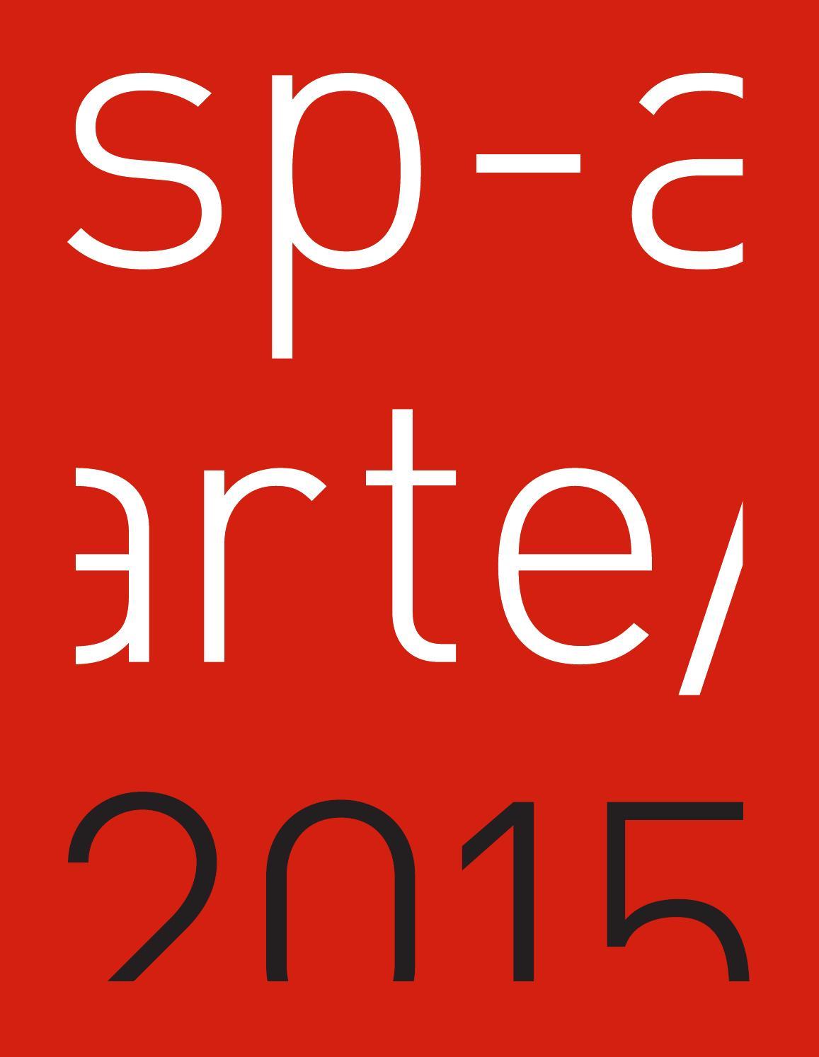 SP-Arte/2015 by SP-Arte - issuu