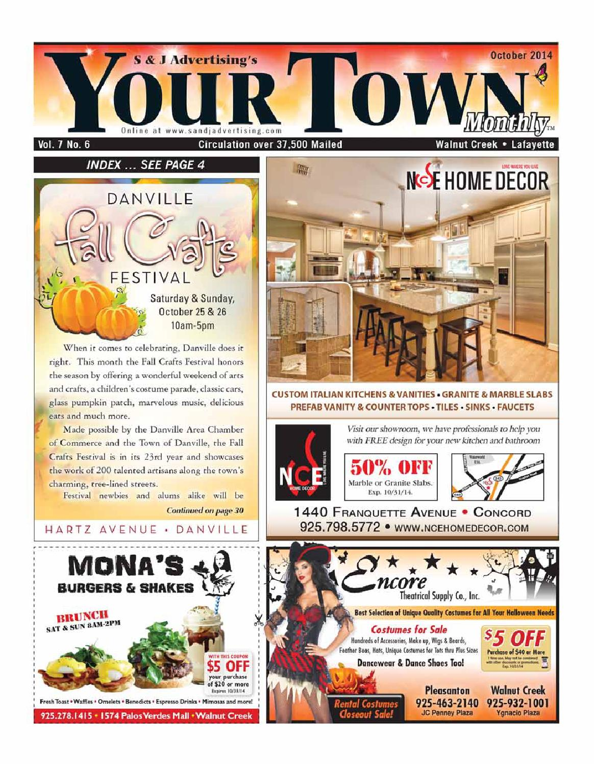 walnut creek/lafayette october 2014your town monthly - issuu