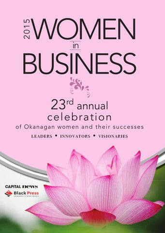 3b2a2539632d8 Special Features - Women in Business 2015 by Black Press - issuu