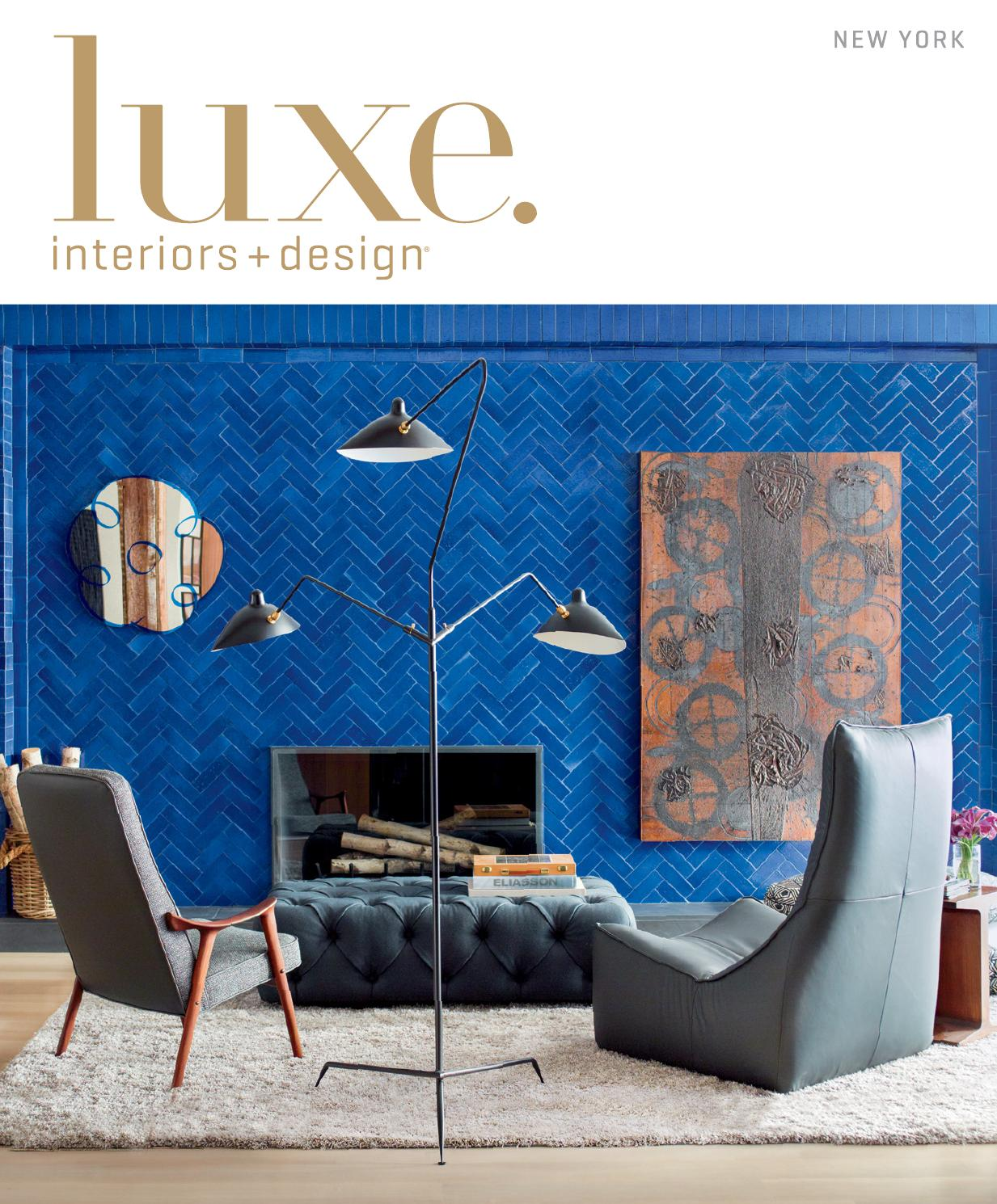 Outstanding Luxe Magazine Spring 2015 New York By Sandow Issuu Onthecornerstone Fun Painted Chair Ideas Images Onthecornerstoneorg